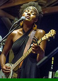 Allison Russel of Birds of Chicago