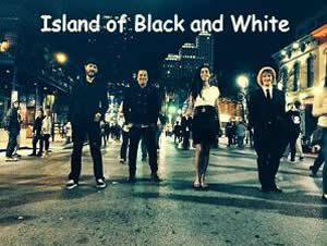 island of black and white