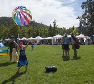 volunteer to help at the american river music festival, coloma, california