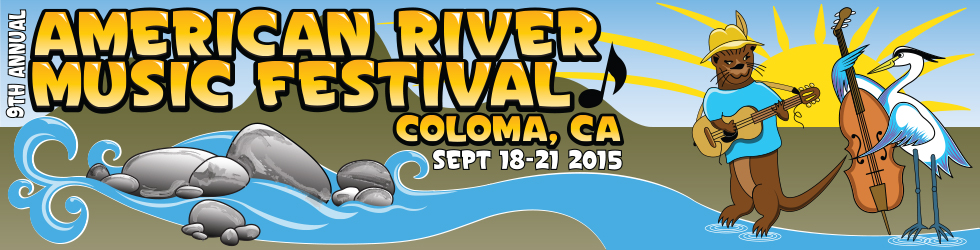 9th annual American River music festival, Coloma, CA, September 18-21, 2015