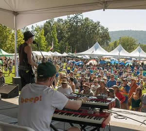 main stage, american river music festival, coloma